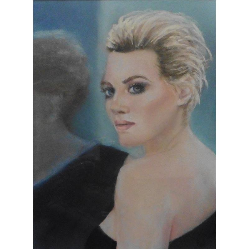 Fanny deniau artiste peintre for Reflet dans le miroir